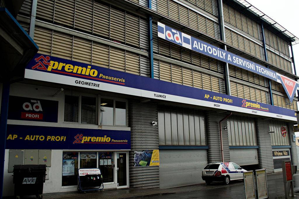 Premio - pneu / autoservis